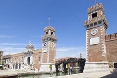 Είσοδος στο Arsenale, Castello, Βενετία, Βένετο, Ιταλία Στοκ Εικόνες
