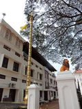Είσοδος της εκκλησίας στο Κεράλα, Ινδία στοκ φωτογραφίες με δικαίωμα ελεύθερης χρήσης
