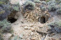 Είσοδοι άξονων ορυχείου στο ορυχείο μασονικός-Chemung Στοκ Φωτογραφίες