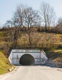 Είσοδος αλατισμένων ορυχείων από Praid στοκ φωτογραφία με δικαίωμα ελεύθερης χρήσης