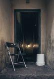 Είσοδος γκέτο ενός κτηρίου Στοκ Εικόνες