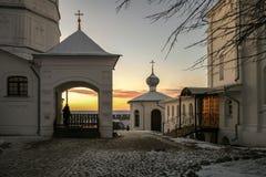 είσοδος εκκλησιών Στοκ Εικόνα