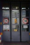 Είσοδος εργοστασίων Στοκ φωτογραφίες με δικαίωμα ελεύθερης χρήσης