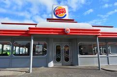 Είσοδος εστιατορίων της Burger King Στοκ εικόνες με δικαίωμα ελεύθερης χρήσης