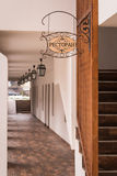 Είσοδος εστιατορίων Στοκ Φωτογραφίες