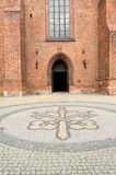 Είσοδος καθεδρικών ναών του Πόζναν Στοκ φωτογραφία με δικαίωμα ελεύθερης χρήσης