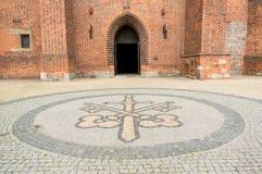 Είσοδος καθεδρικών ναών του Πόζναν Στοκ εικόνες με δικαίωμα ελεύθερης χρήσης