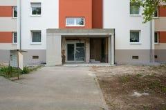 Είσοδος καινούργιων σπιτιών Στοκ Εικόνες