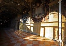 Είσοδος Μουσείων Τέχνης ιστορίας στη Μπολόνια Στοκ Εικόνες