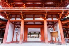 Είσοδος ναών στο Νάρα στοκ εικόνες