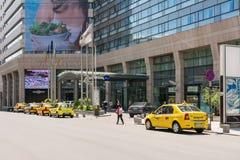 Είσοδος ξενοδοχείων Blu Radisson στοκ εικόνες