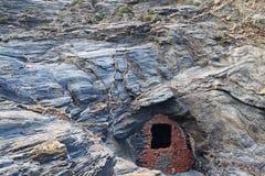 Είσοδος ορυχείου Στοκ Φωτογραφία