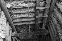 Είσοδος ορυχείου Στοκ εικόνες με δικαίωμα ελεύθερης χρήσης
