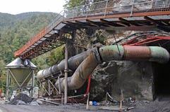 Είσοδος ορυχείων ποταμών λούτσων Στοκ εικόνα με δικαίωμα ελεύθερης χρήσης