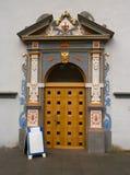 είσοδος ο εξωτερικός Hassan ΙΙ πορτών της Κασαμπλάνκα μουσουλμανικό τέμενος του Μαρόκου Στοκ Εικόνες