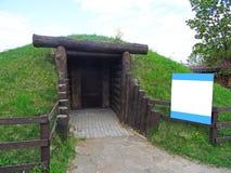 είσοδος σπηλιών Στοκ εικόνες με δικαίωμα ελεύθερης χρήσης