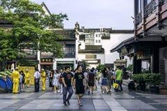 είσοδος στην αλέα Wuyi Στοκ φωτογραφία με δικαίωμα ελεύθερης χρήσης