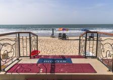 Είσοδος στην παραλία στοκ φωτογραφία με δικαίωμα ελεύθερης χρήσης