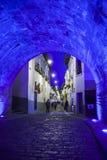 Είσοδος στη γειτονιά του Λα Ronda, Κουίτο, Ισημερινός Στοκ Φωτογραφίες