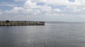 Είσοδος στη μαρίνα θαλασσίων περίπατων Kemah φιλμ μικρού μήκους