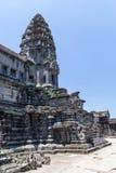 Είσοδος στη στοά Bakan στο Angkor Wat σύνθετο Στοκ Εικόνες