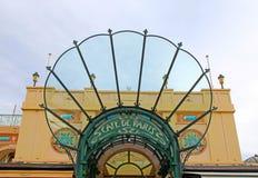 Είσοδος στον καφέ de Παρίσι, Μονακό Στοκ εικόνες με δικαίωμα ελεύθερης χρήσης