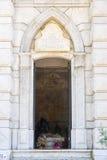 Είσοδος στο αναμνηστικό μοναστήρι Dryanovo παρεκκλησιών Στοκ εικόνα με δικαίωμα ελεύθερης χρήσης