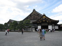Είσοδος στο ιαπωνικό Castle Στοκ Εικόνα