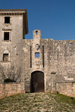 Είσοδος στο κάστρο σε Svetvincenat, Κροατία Στοκ Εικόνα