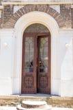 Είσοδος στο μεγάλο ναό του μοναστηριού Dryanovo Στοκ φωτογραφία με δικαίωμα ελεύθερης χρήσης