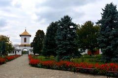Είσοδος στο μοναστήρι Zamfira Στοκ εικόνα με δικαίωμα ελεύθερης χρήσης
