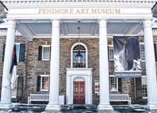 Είσοδος στο Μουσείο Τέχνης Fenimore Στοκ φωτογραφία με δικαίωμα ελεύθερης χρήσης