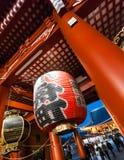 Είσοδος στο ναό Senso-senso-ji Στοκ Εικόνα