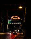 Είσοδος στο νησί Granville, Βανκούβερ, Π.Χ. Στοκ Εικόνες