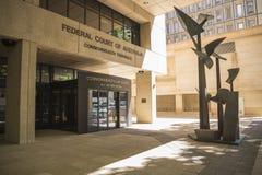 Είσοδος στο ομοσπονδιακό δικαστήριο δικαστήρια της Αυστραλίας, Κοινοπολιτεία, στοκ εικόνες