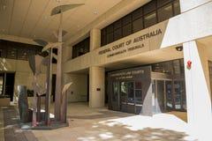 Είσοδος στο ομοσπονδιακό δικαστήριο δικαστήρια της Αυστραλίας, Κοινοπολιτεία, στοκ φωτογραφία με δικαίωμα ελεύθερης χρήσης