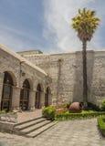 Είσοδος στο προαύλιο σε Arequipa, Περού Στοκ Εικόνες