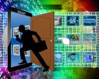 Είσοδος στο Διαδίκτυο Στοκ εικόνες με δικαίωμα ελεύθερης χρήσης