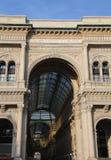 Είσοδος στο arcade που αφιερώνεται στο βασιλιά της Ιταλίας Vittorio Ε Στοκ Εικόνα