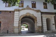 Είσοδος της Μαρίας Therezia φρουρίων στην πόλη Timisoara από το νομό Banat στη Ρουμανία Στοκ εικόνες με δικαίωμα ελεύθερης χρήσης