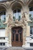 Είσοδος του κτηρίου Lavirotte Στοκ Φωτογραφίες