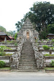 Είσοδος του ναού Pura Kehen Στοκ Φωτογραφία