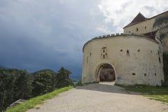 Είσοδος του Castle Στοκ εικόνα με δικαίωμα ελεύθερης χρήσης