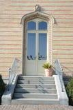 Είσοδος του Castle Patio Montfort Στοκ εικόνες με δικαίωμα ελεύθερης χρήσης
