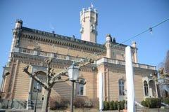 Είσοδος του Castle Patio Montfort Στοκ Εικόνες