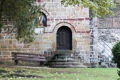Είσοδος του monastary κτηρίου Στοκ εικόνα με δικαίωμα ελεύθερης χρήσης