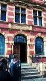 Είσοδος των λουτρών Βικτώριας Στοκ εικόνα με δικαίωμα ελεύθερης χρήσης