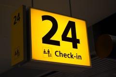 Είσοδος 24 Στοκ εικόνα με δικαίωμα ελεύθερης χρήσης