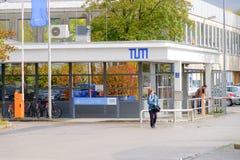 Είσοδος Garching ερευνητικών αντιδραστήρων Στοκ φωτογραφία με δικαίωμα ελεύθερης χρήσης