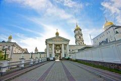 Είσοδος Pochayiv Lavra Στοκ Εικόνες